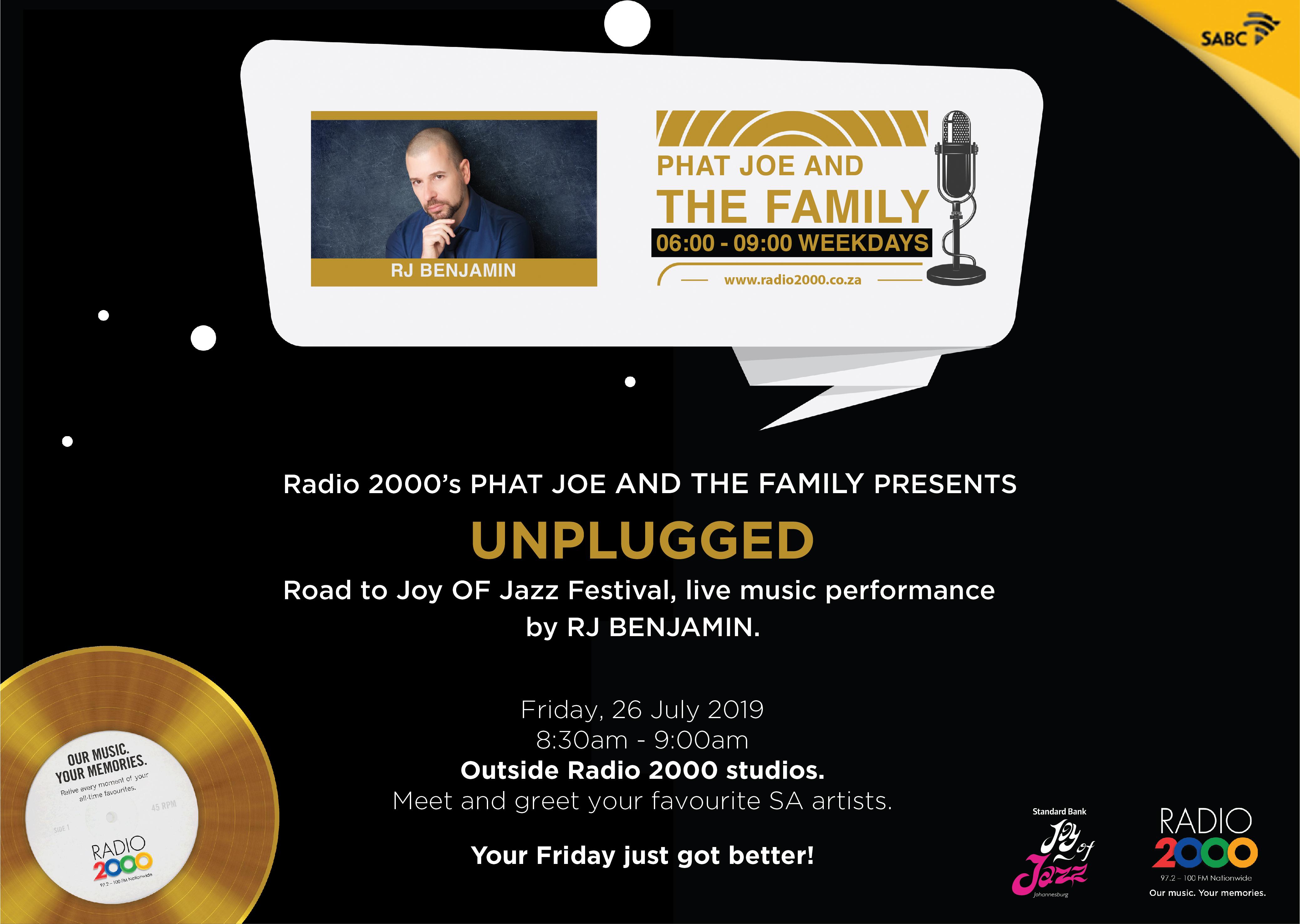 Radio 2000 Unplugged – RJ Benjamin - RADIO2000